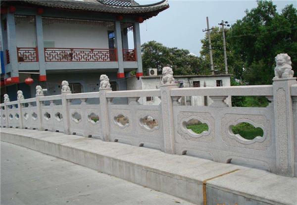 石雕桥护栏图片